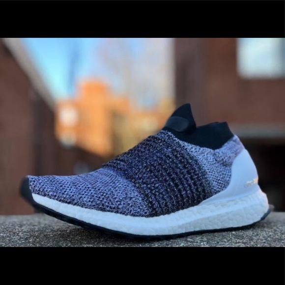 New Adidas UltraBoost Laceless BB6141 Mens Sz 10.5 NWT